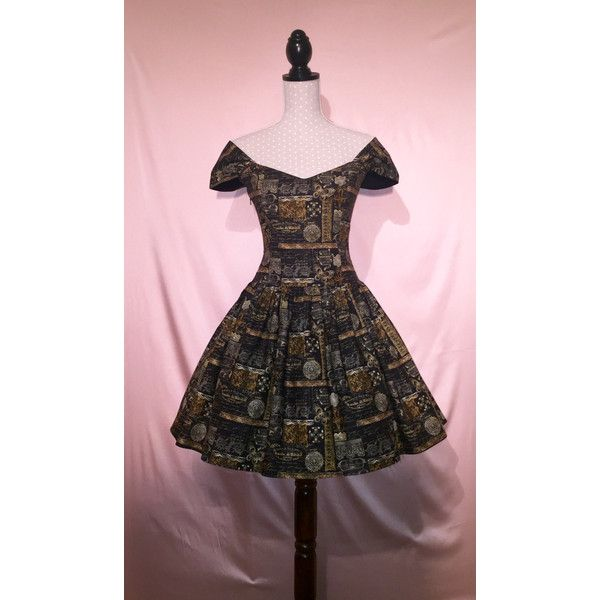 Sew Vintage Goth Steampunk Bardot Corset Dress Made to Order ($155) ❤ liked on Polyvore featuring dresses, pink dress, plus size corset dress, vintage dresses, vintage cocktail dresses and plus size steampunk corset