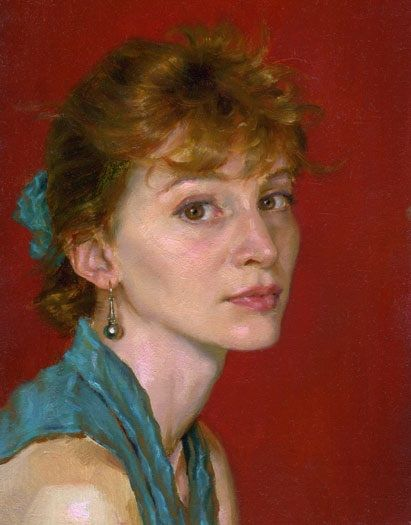 Portrait // by Robert Liberace  (b. 1967)