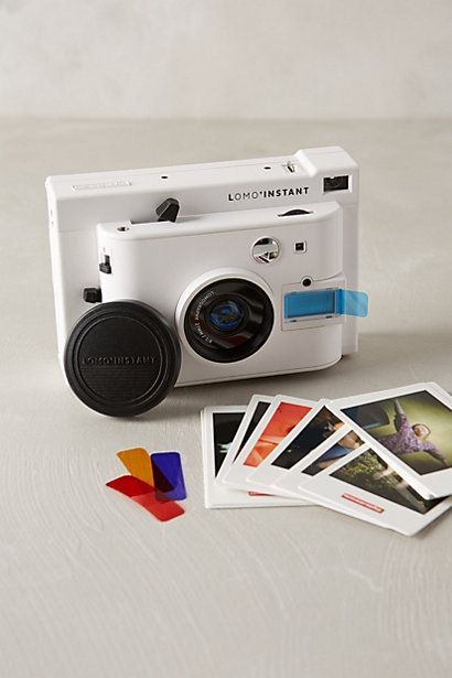 Lomo' Instant Camera & Lens Collection by Lomography $149.00  from Anthropology is a great gift idea for abuelo... http://www.anthropologie.com/anthro/product/home-online-ex/34677112.jsp#/