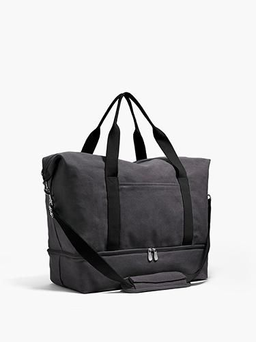 Side - The Catalina Deluxe - Washed Canvas - Midnight Ash - Weekender - Lo & Sons