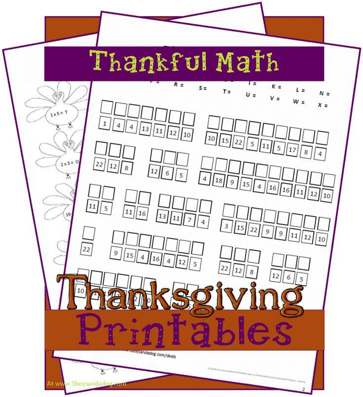 1000 ideas about thanksgiving math worksheets on pinterest 100 chart kindergarten math and. Black Bedroom Furniture Sets. Home Design Ideas