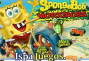 Spongebob Motocross: Juego de bob esponja, donde los amigos tienen que llegar a la meta acumulando aburguesas, cada nivel desbloquearas cada amigos hasta llegar con bob esponja http://www.ispajuegos.com/jugar6265-Spongebob-Motocross.html