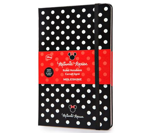 Moleskine | Minnie Mouse Limited Edition Notebook - Large Ruled Hard Cover