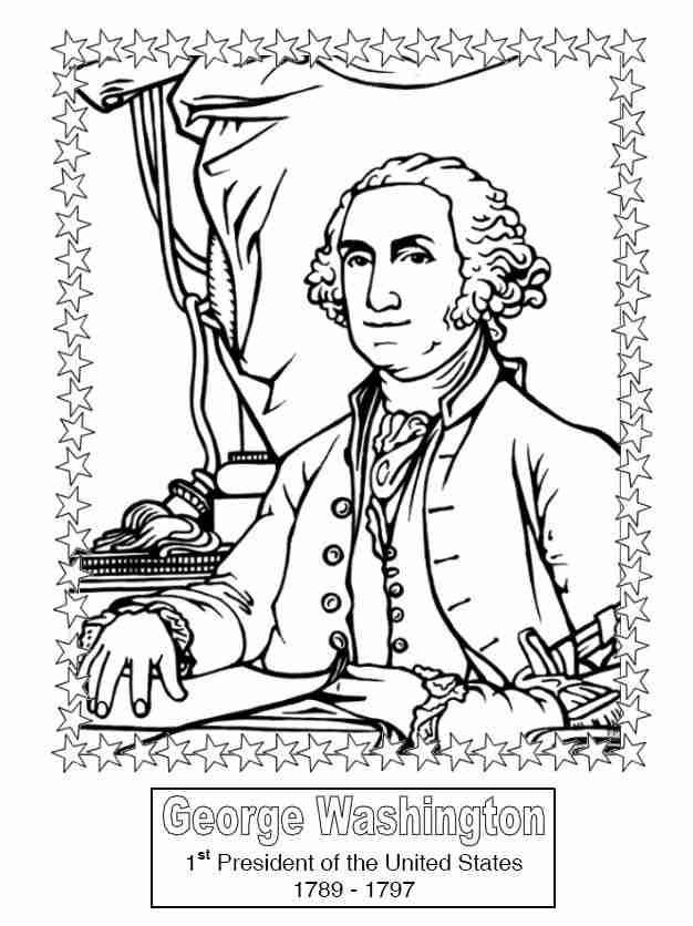 president obama coloring pages free - photo#25