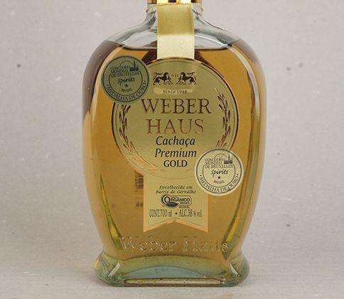 Cachaça premiada e reconhecida: Cachaça Weber Haus Premium Gold 3 anos. Premiada no Concours Mondial Bruxelles #cachaca #produtoorganico