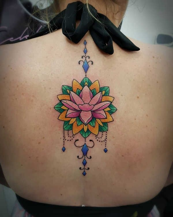 Tatuaż Kwiat Lotosu Znaczenie Historia 50 Zdjęć Pomysł