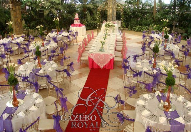 bamboo Wedding Ceiling Decorations, italy   ... Wedding   Gazebo Royale   Kasal.com - The Essential Philippine Wedding