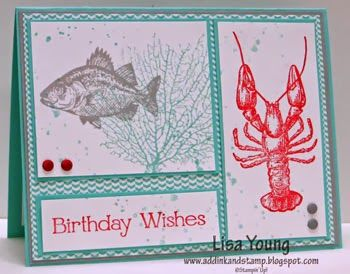 Add Ink and Stamp: A Maine and Manly Birthday CCMC276