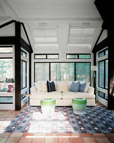Absolutely must have a sunroom!