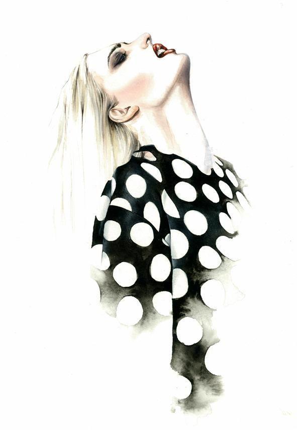 Fashion Illustrations by Antonio Soares