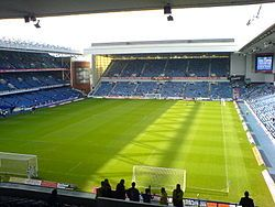 Rangers FC at Ibrox Stadium  Glasgow, Scotland