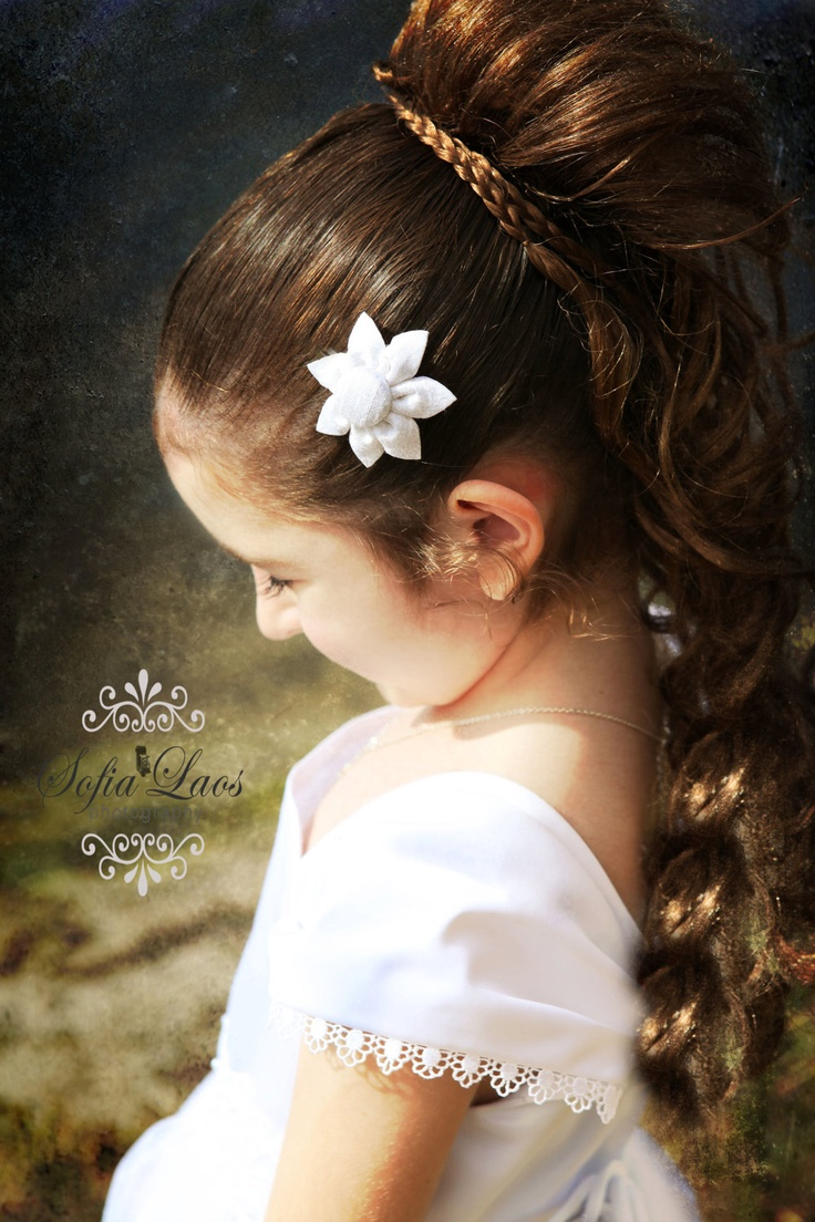 14 Best Images About Communion Hairstyles On Pinterest