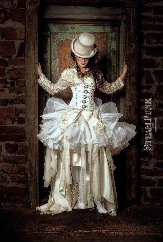 46++ Steampunk wedding dress info