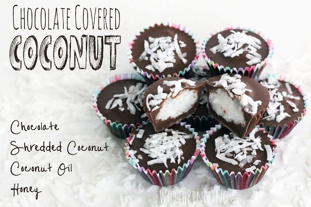 Worth Pinning: Handmade Chocolate Covered Coconut Candy