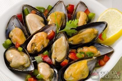 Receita de Marisco à vinagrete em receitas de crustaceos, veja essa e outras receitas aqui!
