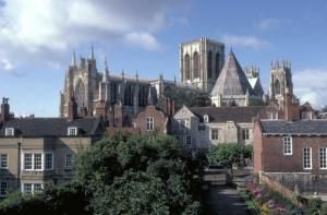 York Minster From The City Walls - Photo courtesy of www.britainonview.com