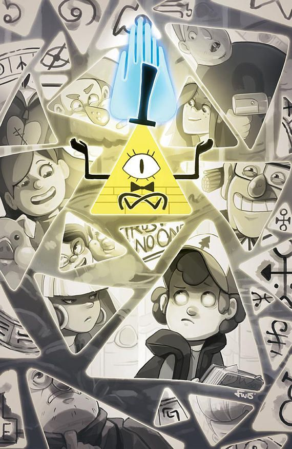 11x17 Print Gravity Falls Bill Cipher Gravity Falls Bill Cipher Gravity Falls Bill Gravity Falls