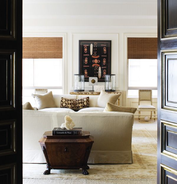 Antique with modern: Thomas Hamel, interior designer.