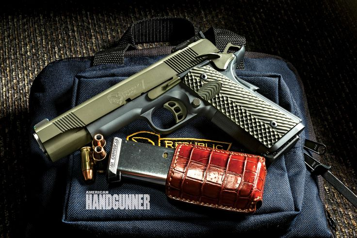 Design Your Own 1911 | Republic Forge gave contributing editor John Russo the chance to design his very own 1911 with features that he's never had on any gun before | Click here for more info: http://americanhandgunner.com/?p=38448  #guns #american #handgunner #magazine #1911