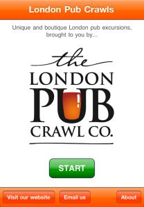 London pub crawl app.  Must get @Lauren Davison Elizabeth.