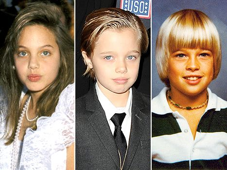 Shiloh Jolie-Pitt Is Spitting Image of Young Angelina Jolie, Brad Pitt - Us Weekly
