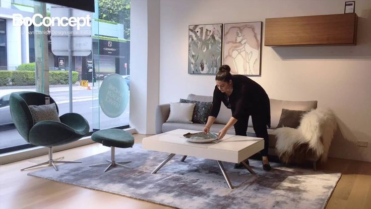 Chiva coffee table - Styling and Functionality by BoConcept Sydney