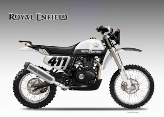 Motosketches: ROYAL ENFIELD HIMALAYAN BAJA