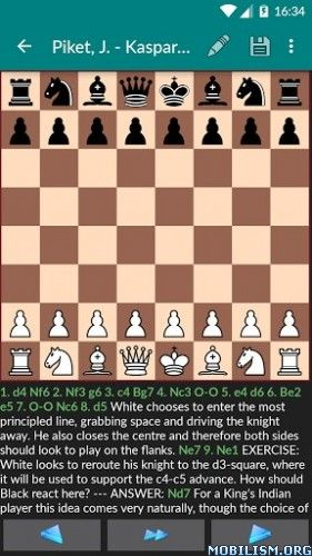 Perfect Chess Database v1.34.1Requirements: 2.2 +Overview: Perfect Chess – the chess application for everyone!  Key Features:– full PGN support– own chess format (small & fast)– download...