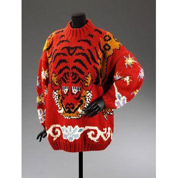 Wool jumper, Great Britain, ca. 1985. l Victoria and Albert Museum