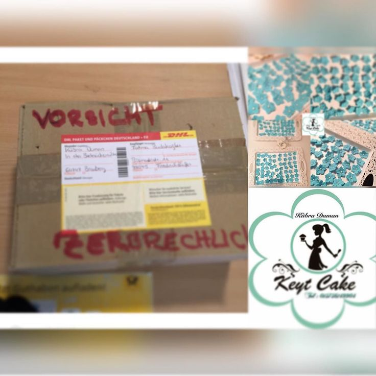 Das #Paket wurde nach #friedrichshafen  #verschickt  #Flowers #flower #cicek #blumen #love #blue #cake #cakes #cakedecorating #pasta #sekerhamuru #fondant #mannheim #frankfurt #aschaffenburg #wiesbaden #hessen #odenwald #made #by @keyt_cake by keyt_cake