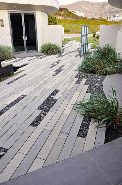 Linear Paver Design - Jeffrey Gordon Smith of Modern Beach