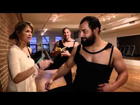 Brendan Schaub And Johny Hendricks Learn Ballet