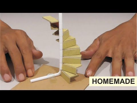 Best 414 How To Make Diy Modeling Spiral Staircase Youtube 400 x 300