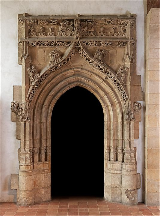 Gothic Doorway Ca 1520 30 This French With Pointed Arches Is Currently