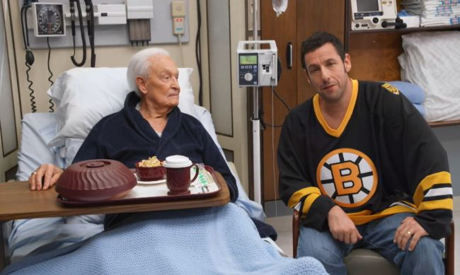 Watch Adam Sandler And Bob Barker Continue Their 'Happy Gilmore' Brawl For 'Night Of Too ManyStars'