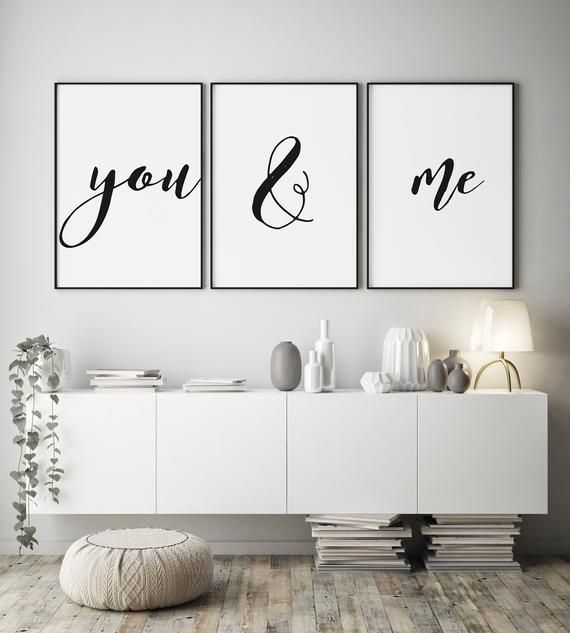 Wall art quotes – newlyweds print – gifts for newl…