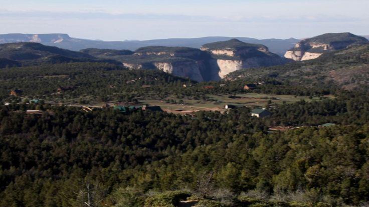 Zion Ponderosa Ranch Resort Overlook View of America's top 6 adventure resort by U.S. News and World Report