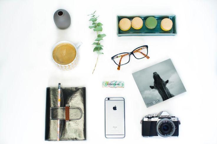 Moodboard inspiracyjny - paleta Hazy