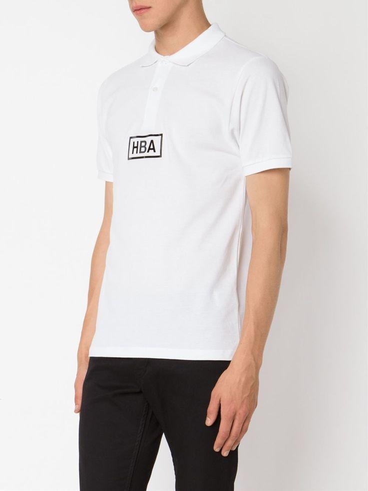 Hood By Air logo polo shirt