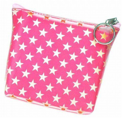 3D Lenticular Coin Pruse - Pavia, with YKK Zipper, STARS, PINK, WHITE, Lantor. $8.50. vinyl. Ease to carry and best 3D Lenticular Gift Ideas.. Purse measures 5 inch. X 4 inch. x 1.5 inch.. Lenticular pattern with changing images. YKK Zipper with YKK puller (Best quality of zipper). Save 23% Off!