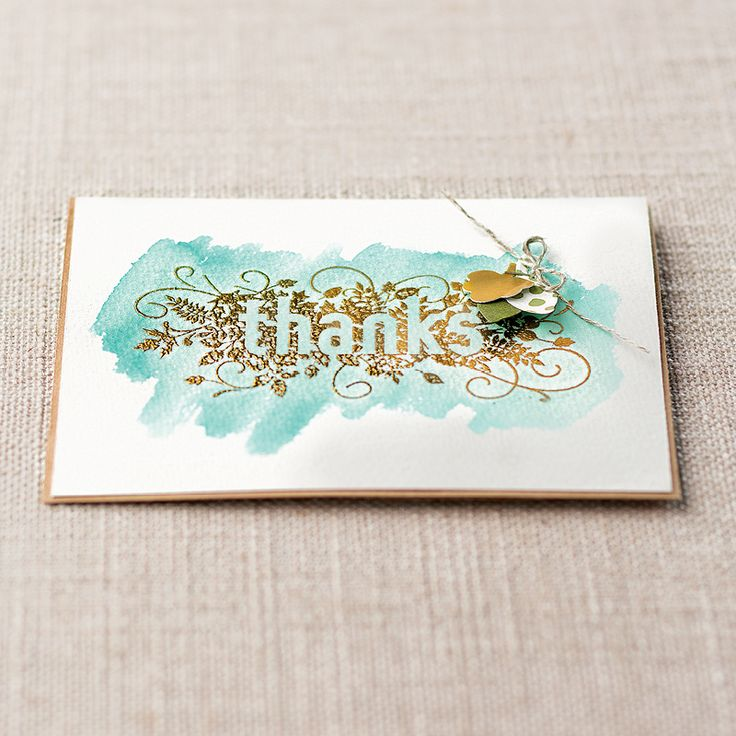 Seasonally Scattered Clear-mount Stamp Set - by Stampin' Up!
