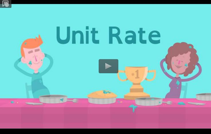 Solving Unit Rate Problems- In this video, learn a strategy for solving unit rate problems. In the accompanying classroom activity, students watch the video then use grocery store ads to calculate unit rates and compare prices. They share solution strategies and consider ways that unit rates can facilitate making comparisons.