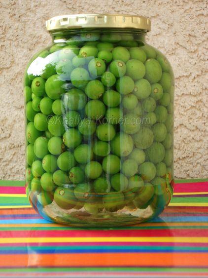Pickle & Preserve   Khatiya Korner  //  pickled unripe green grapes  //