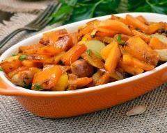 Poêlée de légumes d'automne à l'ail et au persil