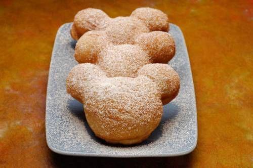 Mickey Mouse Beignets Recipe - Disney Recipes