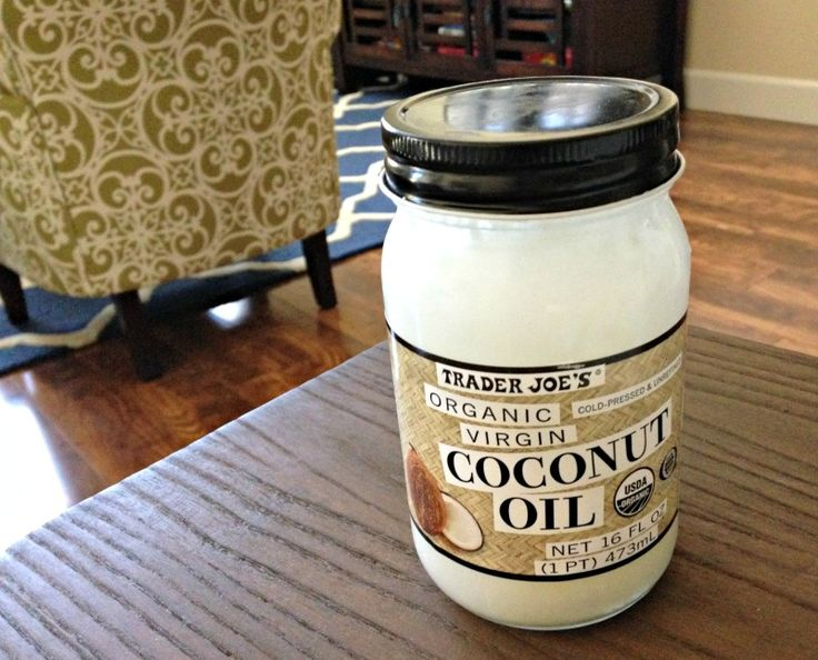 Trader Joe's Coconut Oil -- http://aladygoeswest.com/2015/05/08/friday-favorites-food-tech-sparkle-and-more/