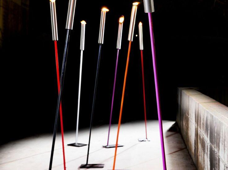 Torcia ad olio FIRE by ZAVA   design Franco Zavarise