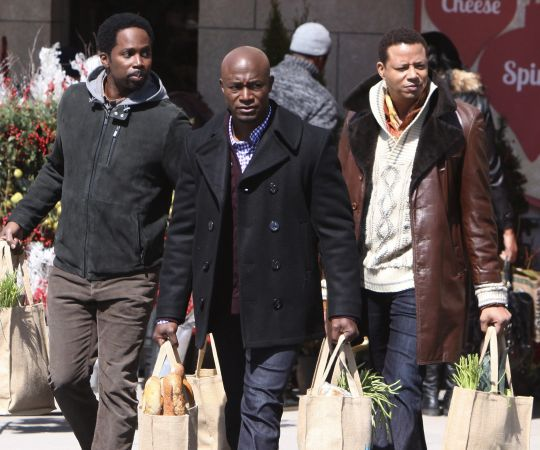 Photos: Taye Diggs, Terrence Howard shooting 'Best Man Holiday' in Toronto | S2SMagazine.com