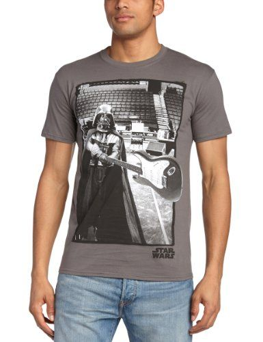 Playlogic International - Camiseta de Star Wars de manga corta para hombre, talla 2XL, color gris #camiseta #starwars #marvel #gift