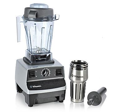 Vitamix Aspire 48oz Blender with Beauty Detox Book and Smoothie Cup - Platinum